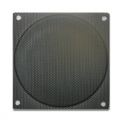80mm Steel Mesh filter / Grill Black