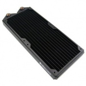 Koolance 2 x 140mm, Dual 140mm Copper Radiator (HF) 30-FPI - HX-CU1402V