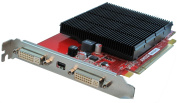 VisionTek Products ATI Radeon HD 5450 512MB DDR3 PCIE DVI Dual Plus Mini Display Port Graphics Card 900530