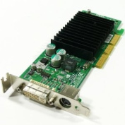 NVIDIA GeForce 4 MX440 64MB DDR AGP Low Profile Video Card w/DVI TV-Out