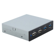 SEDNA - 8.9cm Front Panel with 2 x USB 3.0 + 2 x USB 2.0 Ports