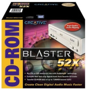 Creative Labs 52x Internal IDE CD-ROM Drive with Audio Accel Technology
