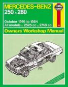 Mercedes-Benz 250 & 280 Petrol Owner's Workshop Manual