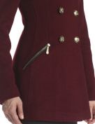 Vince Camuto Women's Military Double Breasted Wool Coat