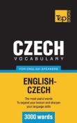 Czech Vocabulary for English Speakers - 3000 Words