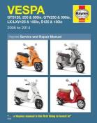 Vespa GTS125, 250 & 300ie, GTV250 & 300ie, LX/LXV125 & 150ie, S125/150ie Service and Repair Manual