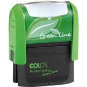 Green Line Printer 20 Self-inking Stamp
