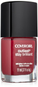 Covergirl Outlast Stay Brilliant Nail Gloss, Wine To Five 190, 10ml
