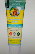 Badger Baby Zinc Oxide Sunscreen Lotion - Charmomile & Calendula