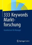 333 Keywords Marktforschung [GER]