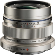 Olympus - M.Zuiko 12mm f/2 Wide-Angle Lens for Most Micro Four Thirds Cameras