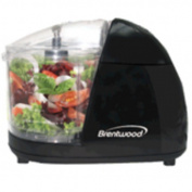 Brentwood - Food Chopper - Black