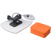 Vivitar - Pro Series Surf Board Security Mounts + Floatable Cushion for GoPro + All Action Cameras