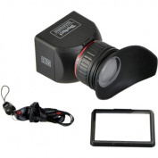 CowboyStudio - GGS 3.0 Foldable LCD Viewfinder w/ 3.0X Magnification for Canon Nikon Sony DSLR Cameras