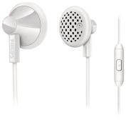 Philips - Earbud Headphones - White