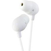 JVC HAFX32W Marshmallow Earbuds, White