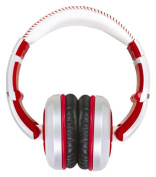 CAD Audio - Sessions Over-the-Ear Headphones - White/Red
