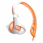 Polk Audio UltraFit 500 Headphones - White/Orange