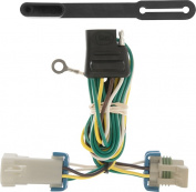 CURT - T-Connector for 1998-2004 Chevrolet S-10, GMC S-15 and Sonoma and 1998-2000 Isuzu Hombre Vehicles - Black