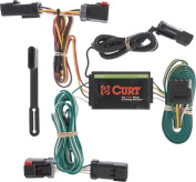 CURT - T-Connector for 2004-2008 Chrysler Pacifica Vehicles - Black