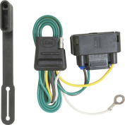 CURT - T-Connector for Select 2011-2012 Ford F-150 Vehicles - Black