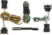 CURT - T-Connector for Select Ford, Lincoln and Mercury Vehicles - Black