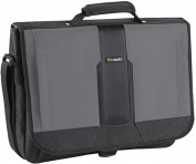 Solo - Pulse Messenger Laptop Case - Black/Grey