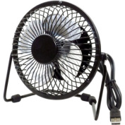 Premiertek USB-Powered Fan, Black