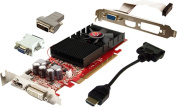 VisionTek - ATI Radeon HD 4350 512MB DDR2 PCI Express 2.0 Graphics Card