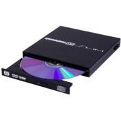 Kanguru - 24x Write/24x Rewrite/24x Read CD - 8x Write DVD External USB 2.0 DVD-Writer Drive