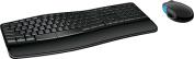 Microsoft - Sculpt Comfort Desktop Wireless USB Keyboard and Mouse