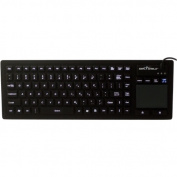 Seal Shield SW90PG2 Touch Glow 2 All-in-One Keyboard, Black