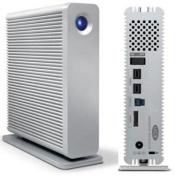 LaCie - d2 Quadra 4TB External USB 3.0/FireWire/eSATA Hard Drive