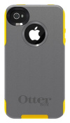 OtterBox Commuter Series Case for iPhone 4/4S - Retail Packaging - Grey/Yellow