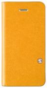 SwitchEasy - FLIP Folio Case for Apple® iPhone® 5c - Tanned Yellow