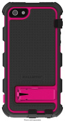 Ballistic - Hard Core Case for Apple® iPhone® 5 - Black/Hot Pink