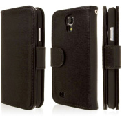 Empire - KLIX Genuine Leather Wallet Case for Samsung Galaxy S4 - Genuine Leather