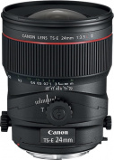 Canon - TS-E 24mm f/3.5L II Tilt-Shift Lens - Black