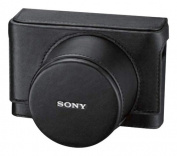 Sony - Leather Jacket Camera Case - Black