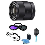 Sony - SEL24F18Z - Carl Zeiss 24mm f/1.8 Lens Essentials Kit with filter Kit and More