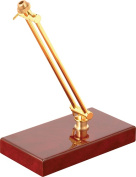 On-Stage - Executive Desktop Microphone Stand - Gold