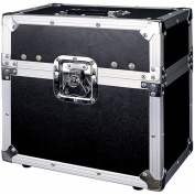 Road Ready - ATA Style 12 Microphone Case for 12 Mics w/ Storage Compartment