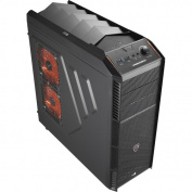 Aerocool - XPredator X1 Black Edition ATX/Micro ATX Mid-Tower Chassis
