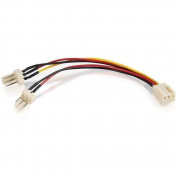 C2G - 3-Pin Fan Power Y-Splitter Cable