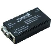 Transition Networks - 10/100/1000Base-TX to 1000Base-SX Media Converter