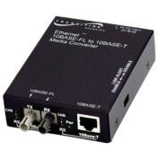 Transition Networks E-TBT-FRL-05(L) 10BASE-T to 10BASE-FL Ethernet Media Converter -