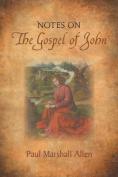 Notes on the Gospel of John