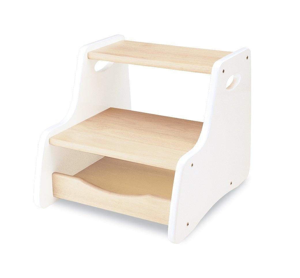 Brilliant Pintoy Step Stool White Machost Co Dining Chair Design Ideas Machostcouk