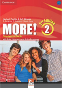 More! Level 2 Student's Book with Cyber Homework and Online Resources
