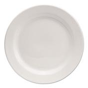 "Chef's Table Fine Porcelain Round Dinnerware, Salad Plate, 8"" dia, White, 8/Box"
